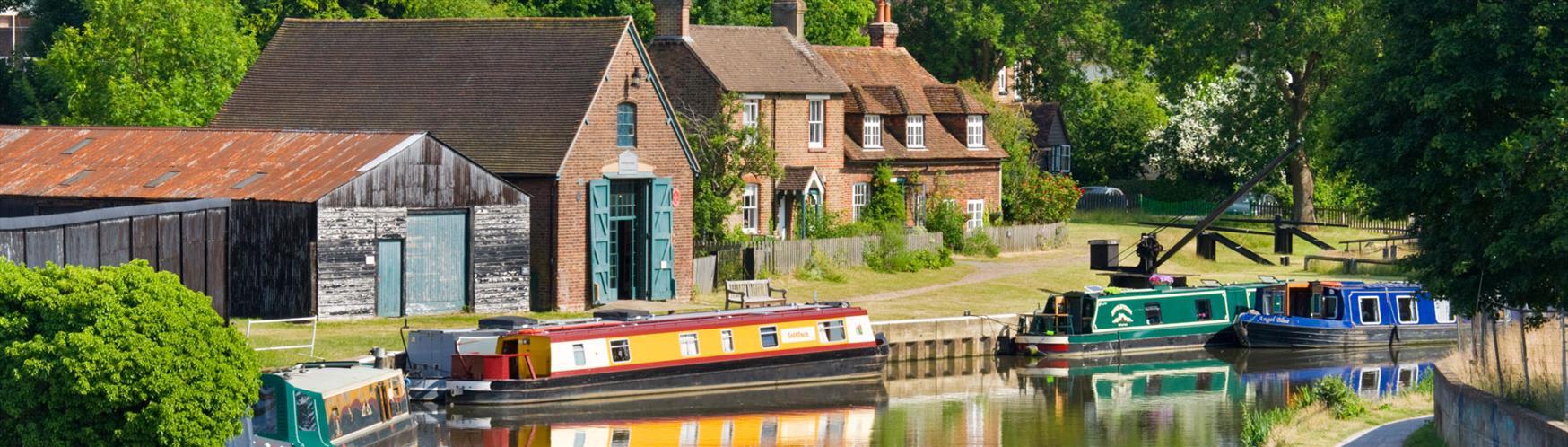 Canals & Rivers in Surrey - Visit Surrey