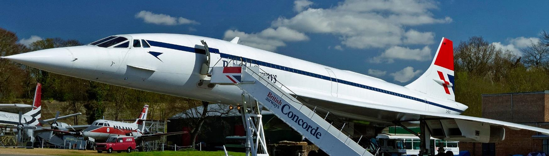 Take your seat on Concorde