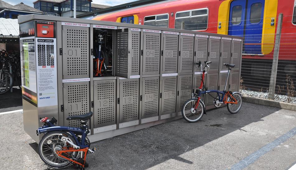 Brompton Dock Guildford Cycle Hire