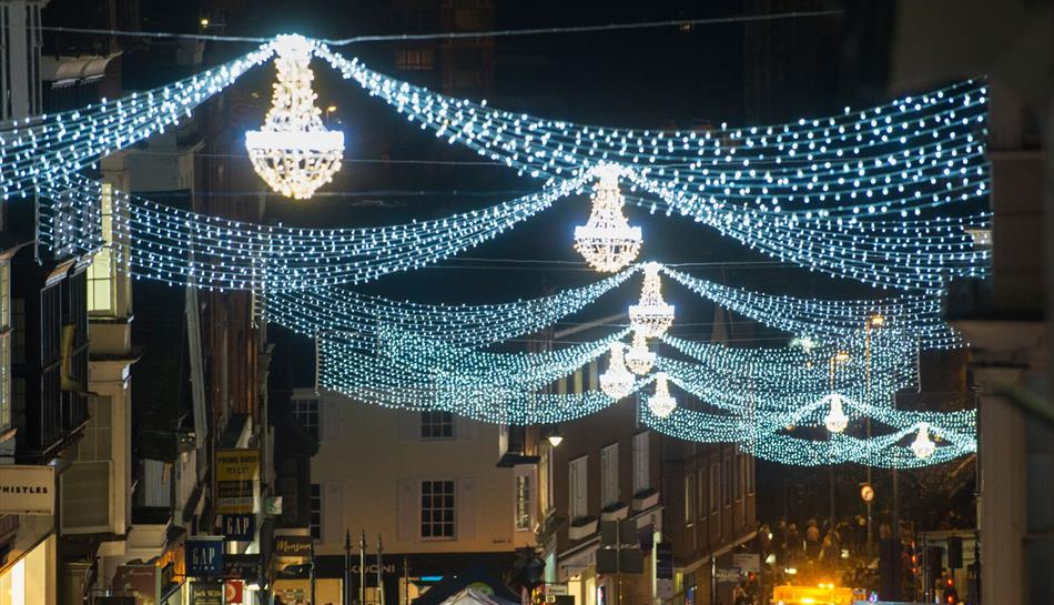 Christmas Lights Near Me 2019.Guildford Christmas Lights Switch On 2019 Christmas In