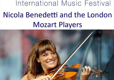 Nicola Benedetti and the London Mozart Players