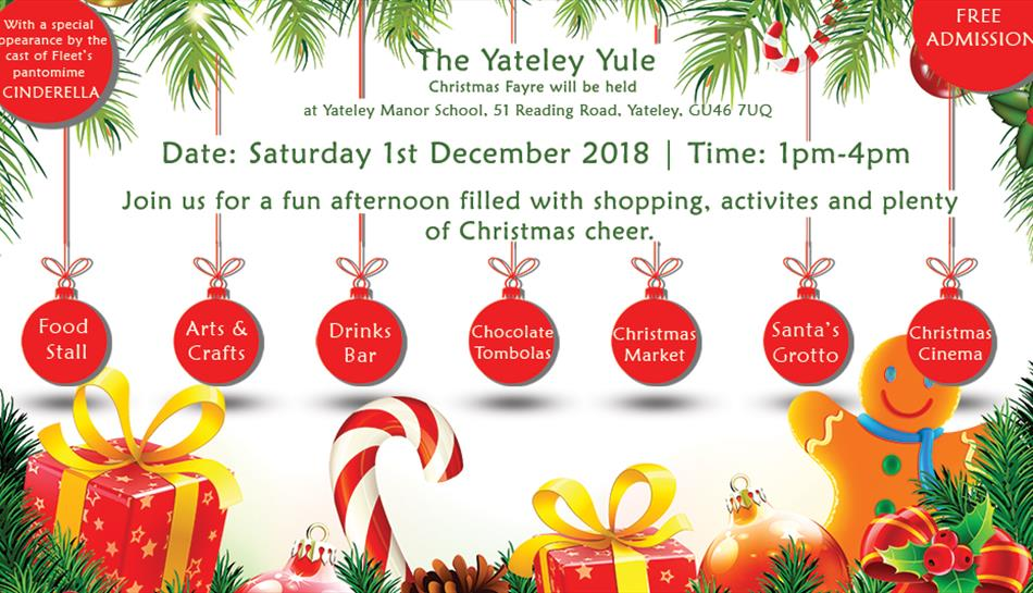 The Yateley Yule Christmas Fayre - Christmas in Yateley, Surrey ...