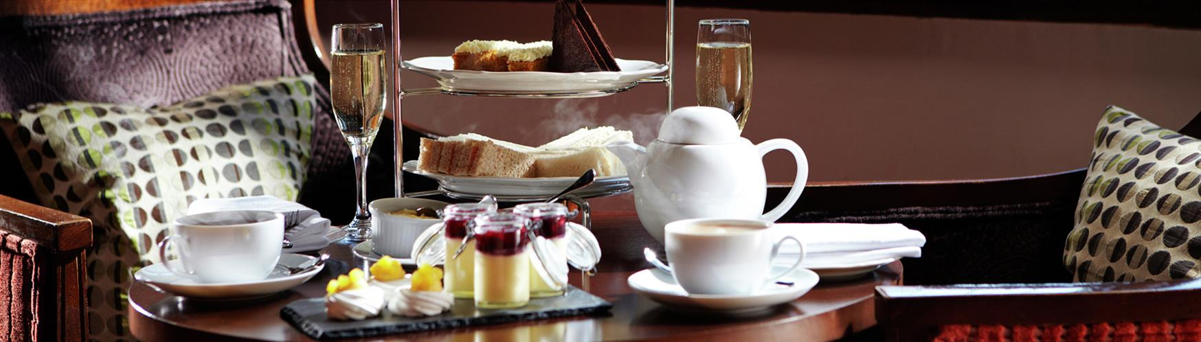 Indulge in a spot of afternoon tea