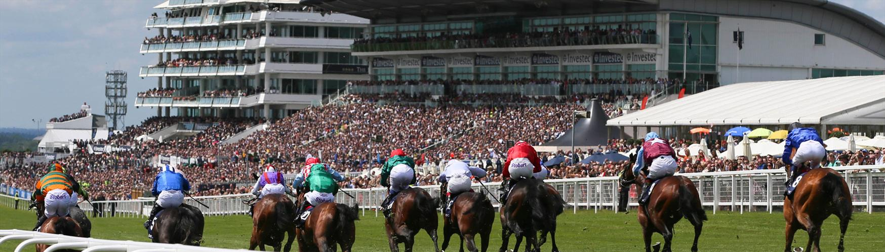 Epsom Downs Racecourse the Home of the Derby