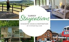 Staycation in Surrey