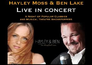 Hayley Moss and Ben Lake live in concert