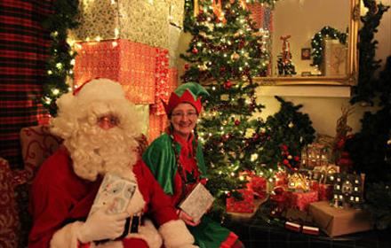 Visit Father Christmas every weekend from Sat 23 Nov to Sun 15 Dec 10am-5pm
