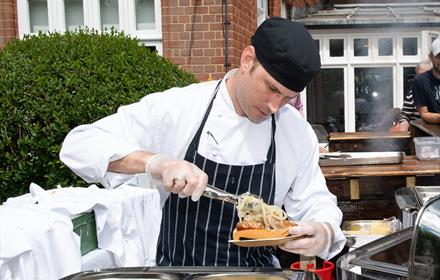 Barbecue Sundays at Woodlands Park Hotel