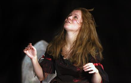 Open air theatre: Wuthering Heights at Hatchlands Park