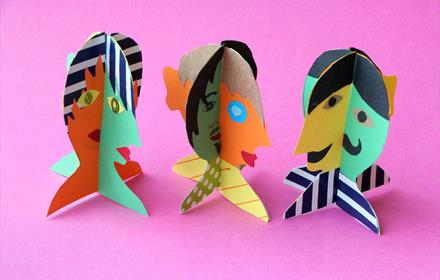 3D Picasso Heads