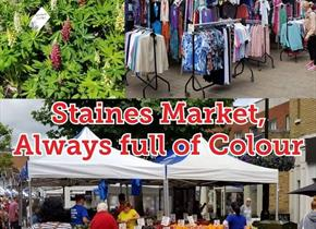 Staines Market every Wednesday,Friday and Saturday