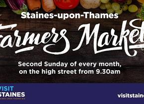Staines-Upon-Thames Farmers Market every 2nd Sunday of the Month