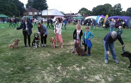 St. Johns Village Fete and Fun Dog Show