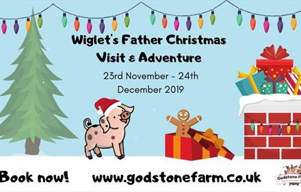 Visit Father Christmas at Godstone Farm