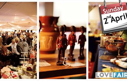 Lingfield Antiques, Vintage and Collectables Fair