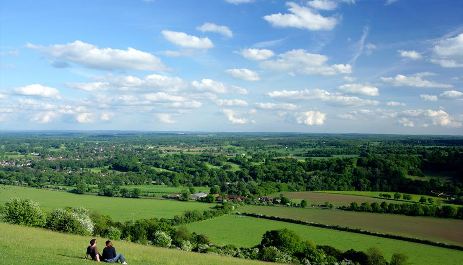 Box Hill Viewpoint In Tadworth Mole Valley Visit Surrey