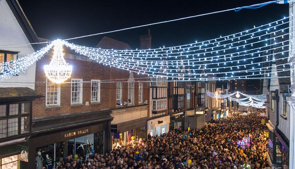 Guildford 2017 Christmas Lights