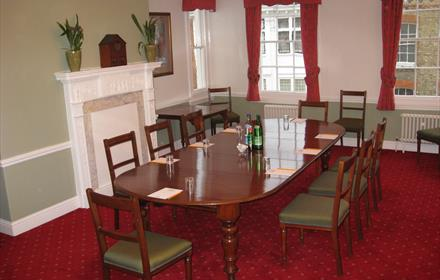The Carroll meeting room at The County Club