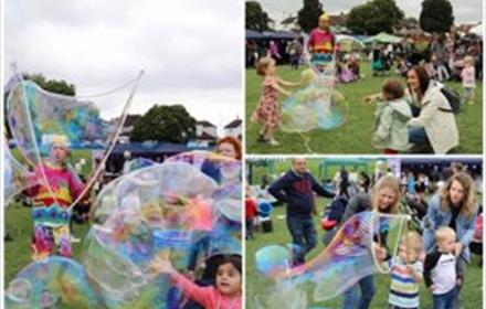 Frensham Fayre and party in the park