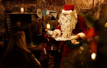 Father Christmas at Bocketts Farm Park