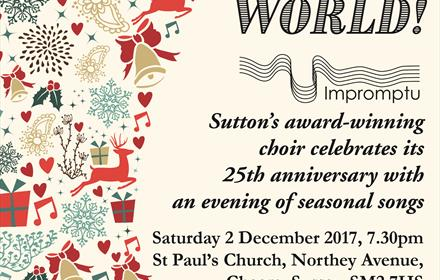 Joy To The World Impromptu's 25th Anniversary Concert