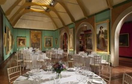 Dinner at the Watts Gallery with Sir Richard Stilgoe