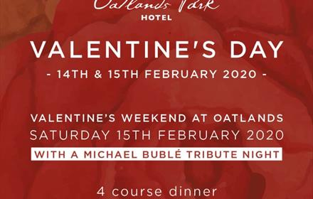 Valentine's Day at Oatlands Park Hotel