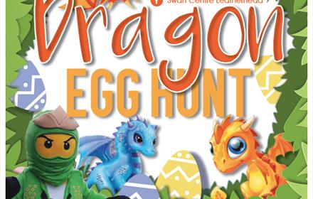 Leatherhead Dragon Egg Hunt
