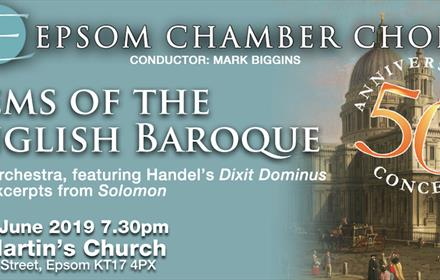 Choral concert - Gems of the English Baroque