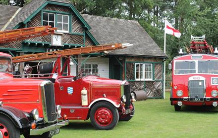 Fire Engines on Show at Rural Life Centre
