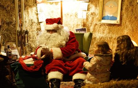 Visit Father Christmas at Bocketts Farm Park