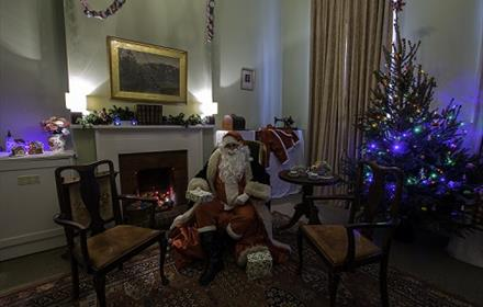Meet Father Christmas at Hatchlands Park