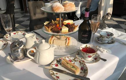Afternoon Tea at Stanhill Court Hotel