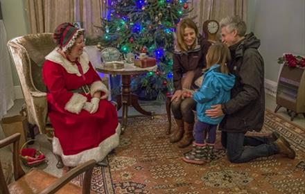 Meet Mrs Christmas at National Trust Hatchlands Park 2018