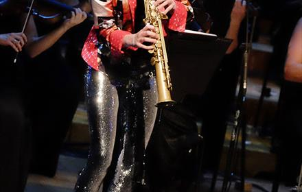 Jess Gillam - Saxophone part of the Guildford Spring Music Festival