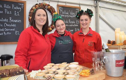 Priory Farm's Christmas Food Festival
