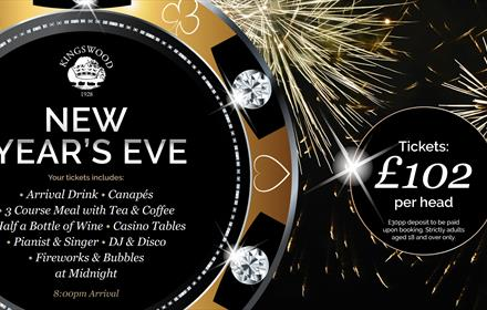 New Year's Eve at Kingswood Golf & Country Club