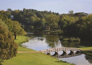Long vista at Painshill
