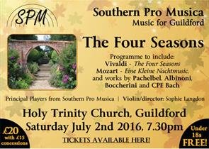 The Four Seasons - Southern Pro Musica