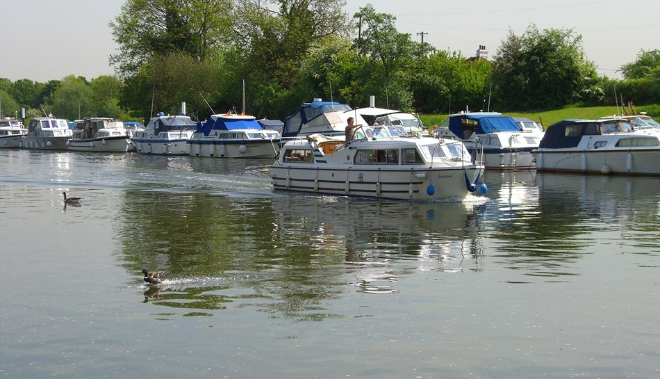 The Thames at Shepperton