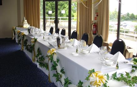 Kempton Park Racecourse, for weddings, meetings and conferences