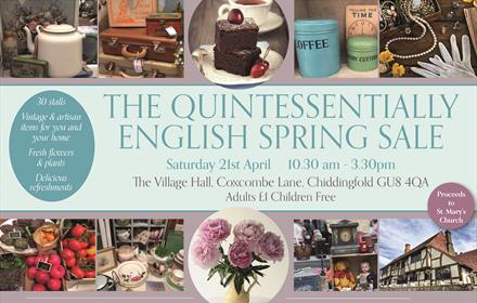 The Chiddingfold Quintessentially English Spring Sale