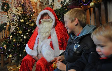 Special weekday Visit Father Christmas (under5 only) Thu 5, 12 & Fri 6, 13 Dec, 10.30am-12pm