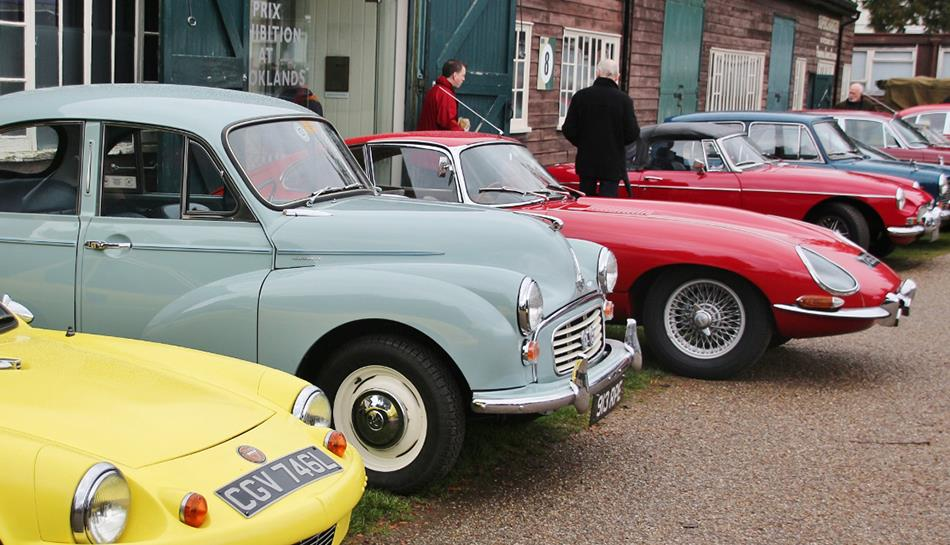British Marques Day at Brooklands Museum