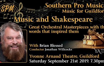 Southern Pro Musica brings you: Music and Shakespeare