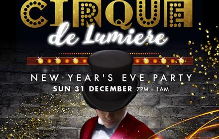 Cirque de Lumiere - New Year's Eve Party