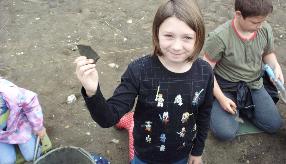Try Archaeology at Bourne Hall Museum