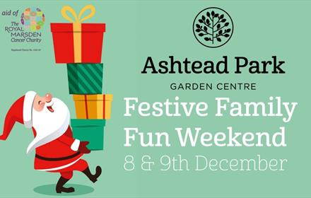 Festive Family Fun Weekend at Ashtead Park Garden Centre 2018