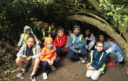 Forest School Half Term Camp