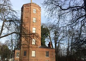 Chatley Heath Tower. The only surviving semaphore station.